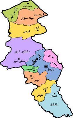 نقشه اردبیل کسب و کار تاسیس و ثبت شرکت استان شهر اردبیل آسان ثبت