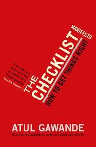 ۱۳. چک لیست «Checklist manifesto» آتول گاواند