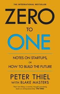 از صفر به یک «Zero to one» نوشته پیتر تیل