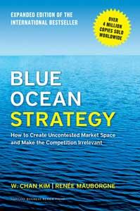 ۳. استراتژی اقیانوس آبی «Blue ocean strategy» نوشته دبلیو چان کین و رنه مابورنیا