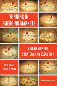 ۹. استراتژیهای کسبوکار در بازارهای نوظهور «Winning in Emerging Markets: a Road Map for Strategy and Execution» نوشته تارن کانا، کریشنا پالپو و ریچارد بولاک
